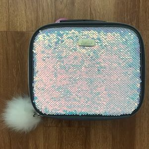 Justice Sequin Lunch Box